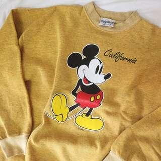 Vintage 80s Mickey Mouse
