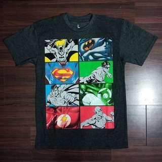 #maups4 Tshirt DC COMICS JUSTICE LEAGUE Original