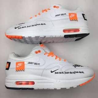 Brand new Nike Air Max 1 LX just do It white size 8.5 B Grade