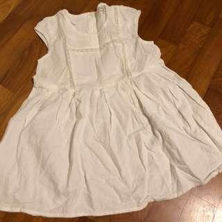 4T NEW K two K Lace Details White Dress