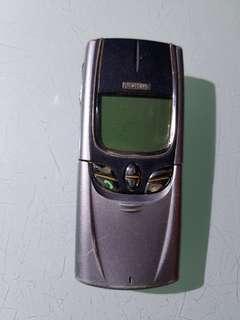 nokia 8850 收藏多年,不知好懷,當垃圾賣,没有火牛,老香港懷舊手機大哥大