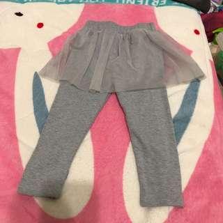 🚚 灰色裙褲