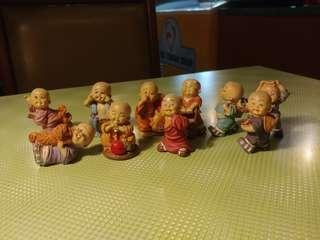 Mini Monks Figurine