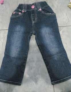 Celana jeans girl 2-3th