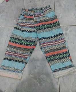 Celana Merk Zara kids 2-4th