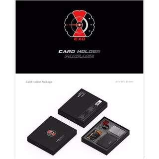 OFFICIAL EXO CARD HOLDER PACKAGE