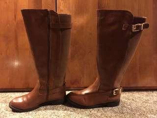Express Tan Boots