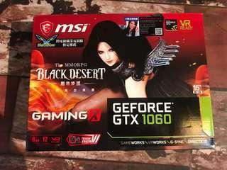 MSI GTX 1060 6GB Gaming X Graphic Card