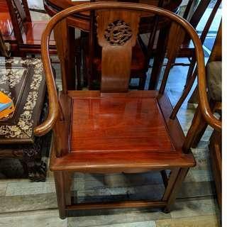 花梨木圈椅