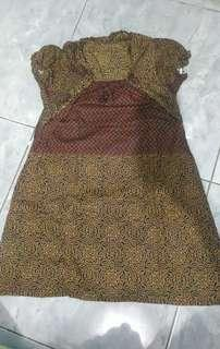 Dress batik 2-3th