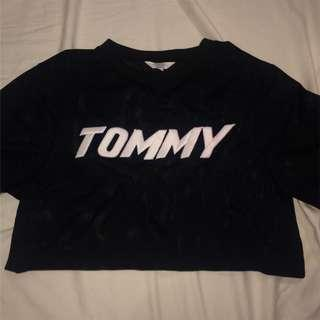 Mesh tommy tee