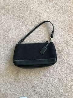 Authentic Coach Monogram Purse