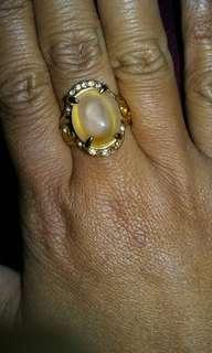 """Lucky """"8"""" Gold Plated Ring"""