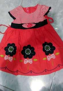 Dress cantik 2-3th