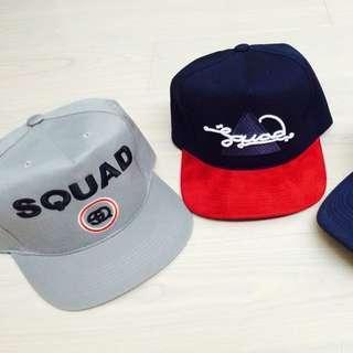 SQUAD AUTISM Design21 網帽 棒球帽 後扣 軍帽