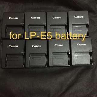 Original Canon Charger for Lp E10 E8 E5 Nb 8L 7L 2LH also for Sony Lumix Nikon