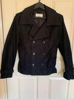 Double breasted jacket coat