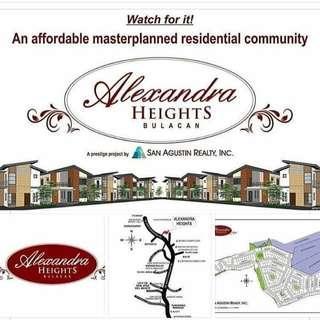 120sqm Lot for Sale in Alexandra Heights, Villarama Highway/Del Monte-Norzagaray Rd., Brgy. Minuyan, Norzagaray Bulacan