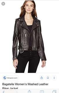 Bagatelle NYC leather jacket