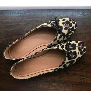 Leopard Ballet Flats