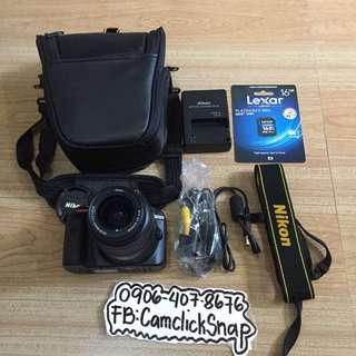 Nikon d3300 complete package almost brandnew 700 clicks used only