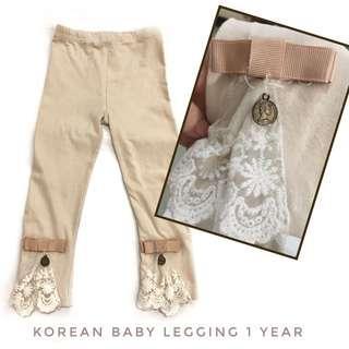 Legging Baby 1 year