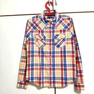 🚚 Wrangler 格紋襯衫