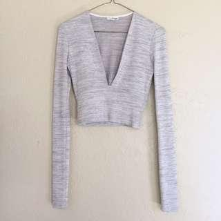 ISO Wanted: Aritzia Wilfred Free Brigitte Long Sleeve in Heathered Grey Size XS