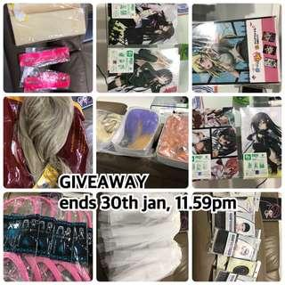 giveaway, ends 30 january 11.59pm