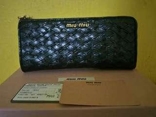 Miu Miu Authentic Wallet