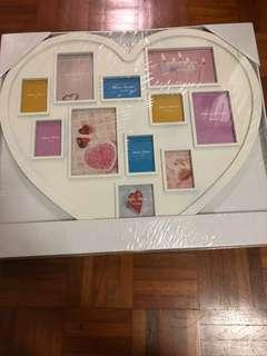 Heart Shaped photo frame (BNIB)