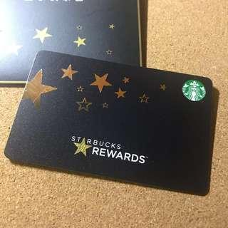 🚚 China Starbucks Black Gold Reward Card