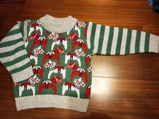 🚚 【五零方案】馬兒針織毛衣 耶誕風