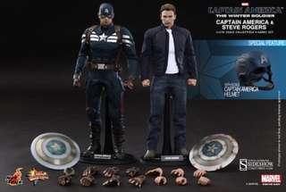 Hot Toys Captain America Stealth Suit Set