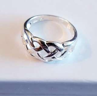 Sterling Silver ring - size #8