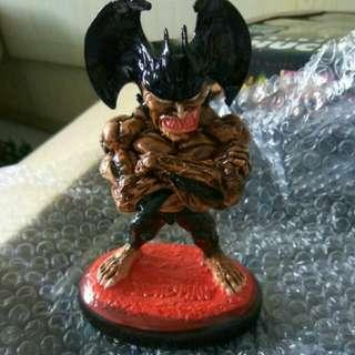 The Devil Man clay figurine