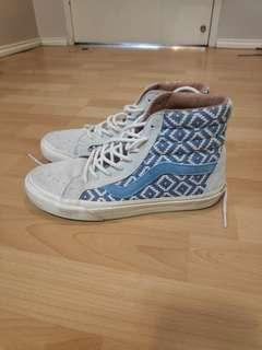 Vans size 8 limited edition high tops