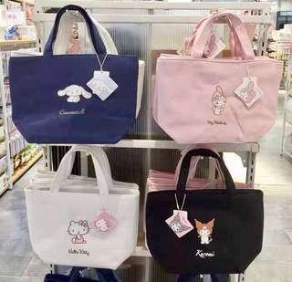 Sanrio theme thermal or cooler bag for lunch boxes & etc