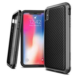 🚚 X-Doria Case Defense Lux (Black Carbon) for iPhone XS Max