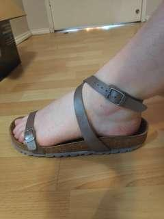 Birkenstock ankle wrap sandals