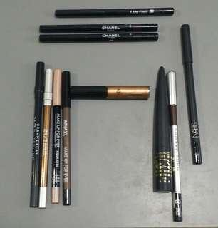 Luxury to Middle-End Eyeliners