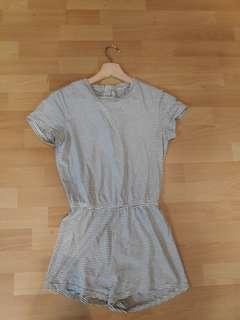 Stripy Playsuit size S