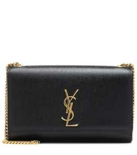 🚚 Authentic YSL Kate Medium Sling Bag - Black Caviar Leather + Gold Hardware