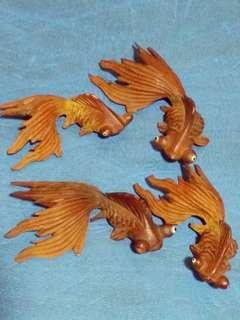 Wooden Goldfish