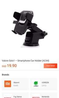 Valore Car Mount Brand New In Box