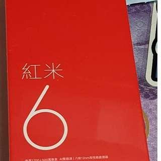 小米紅6[神腦公司貨]