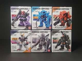 Gundam Converge 6 pieces including Sinanju Stein!