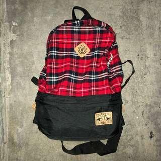 Element Skateboards Waistbag + Backpack