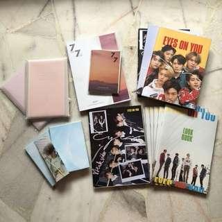 [$5 ALBUM SALE] GOT7 Eyes On You Present You and & Me 7 For 7 Albums