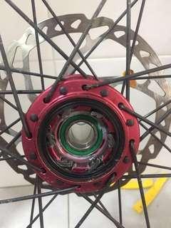 27.5 (650b) wheelset